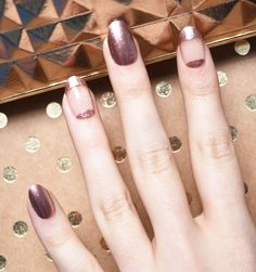 Engaged? This Is How Your Nails Should Look like. More at www.DelicateCaressCosmetics.com