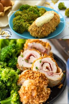 Baked Chicken Cordon Bleu is a delicious and healthy take on a classic chicken recipe. With layers of tender chicken, cheese, ham, and dijon sauce, this is an epic chicken recipe that the whole family will love! #cordonbleu #chickencordonbleu #bakedchickenrecipe #recipevideo #weeknightdinner This Homemade Dish Is Crispy And Delicious, Filled With Cheese And Ham. It Is An easy Version Of The Famous French Meal That Is Ready In About One Hour. . Chicken Cordon Blue Sauce, Best Chicken Cordon Bleu Recipe, Baked Chicken Cordon Bleu, Classic Chicken Recipe, Cordon Bleu Sauce, Authentic Mexican Recipes, Gourmet Dinner Recipes, Cooking Recipes, Gourmet Chicken