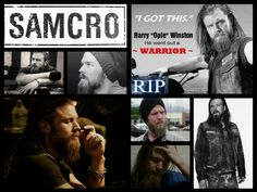 Opie (ryan hurst) SAMCRO R.I.P.  sad day