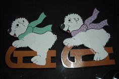 Eisie der Eisbär (Rechts laminiert)