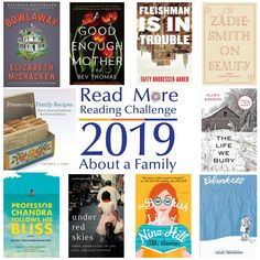 Read More Reading Challenge: A Book About a Family Craig Thompson, Zadie Smith, Reading Challenge, Adult Children, Super Powers, Family Life, Read More, Books To Read