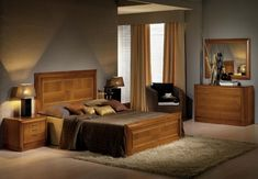 camas de madera matrimoniales rusticas - Buscar con Google