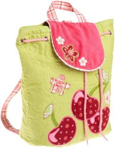 Stephen Joseph Girls 2-6x Girl's Signature Collection Quilted Backpack http://www.amazon.com/Stephen-Joseph-Signature-Collection-Backpack/dp/B004UPNG66/?tag=pinterest082-20