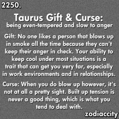 Taurus gift and curse