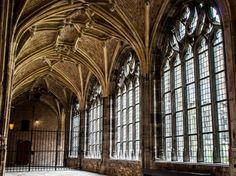 Kloostergangen van het Abdij-complex Middelburg
