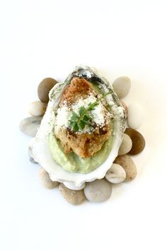 oyster | kieffer lime from Citrus in 8 courses