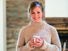 Stricken wie die Stars: Athletin Magdalena Neuner zeigt uns, was wir Schönes aus Wolle und Garn zaubern können und schenkt uns ihre