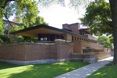 The Frederick C. Robie House 1908, Frank Lloyd Wright