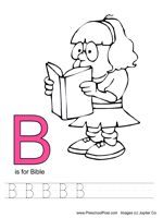 ABC Bible Coloring Pages -- for scott
