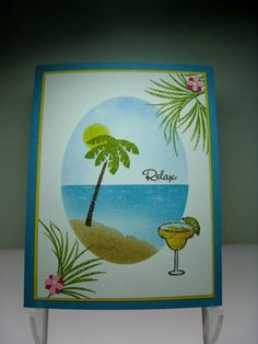 fra76 Tropical Oasis--th by thonz - Cards and Paper Crafts at Splitcoaststampers