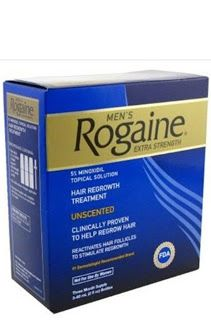 Rogaine Extra Strength for Men Rogaine Mens Regrowth X-Strength 5 Percent Unscented 3-60ml (2fl oz) bottles $42.25 & FREE Shipping