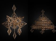 Straw «spiders»by Yannah More- http://crafthunters.com/en/things/Yannah-More-straw-spiders#