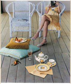 Káva na terase Picnic Blanket, Outdoor Blanket, Cosy, French, Garden, Instagram Posts, Inspiration, Inspired, Summer