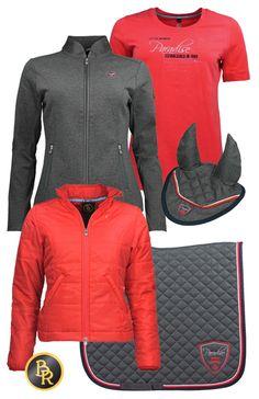 BR Summer Coral Red-Grey #BR #summer17 #equestrian #fashion