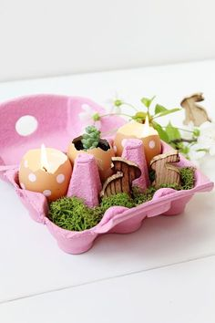 make me:  Top of our must make list !   draw your own... origami   easter surprise balls  just so pretty ...