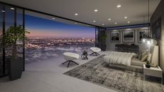 Luxury Bedroom with Amazing View