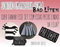 Trashy Vogue | por Jacqueline Illoz: Sorteio em parceria com a Bad Liten!