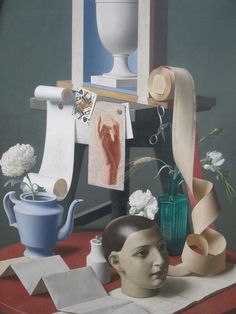 Cave to Canvas, Meredith Frampton, Trial and Error, 1939