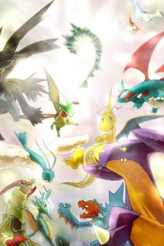 The Dragon types- My favorites are Flygon, Garchomp, and Zekrom :)<< you don't like Haxorus? Aw
