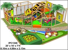 Commercial Indoor Playground Equipment Design