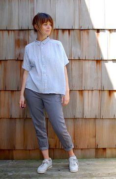 The Perkins Shirt Dress by Ensemble Patterns