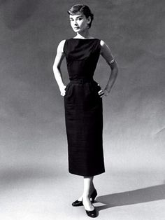 Edith Head once told Audrey Hepburn to stay away from black.