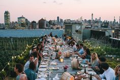 With herb-scented breezes and breathtaking views of the City, our private rooftop venue provides a unique and memorable setting for your next event. Be it a dinner party, office team-building getaway, educational workshop, fitness class, or wedding, you and your guests are sure to have an experience like no other at our stunning rooftop farm.