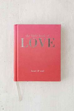 The Little Book Of Love Heart Soul By Tiddy Rowan