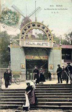 Le Moulin de la Galette, Paris | Flickr - Photo Sharing!