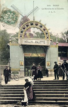 Le Moulin de la Galette, Paris | Flickr - Photo Sharing!