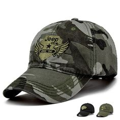 Fashion New Outdoor Camo baseball hats Men Casual Top Quality Peaked Caps  55-59cm Tumblr 66535decc5b4