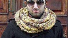 Kansas neck warmer crochet handmade made in di CreazioniArtEC