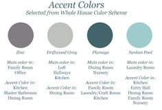 Accent Colors 1 of 2