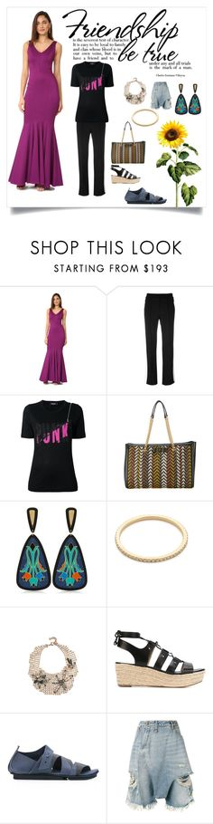 """""""keeps you looking young"""" by denisee-denisee ❤ liked on Polyvore featuring Zac Posen, Moncler, Dsquared2, Salvatore Ferragamo, Anna e Alex, Gabriela Artigas, Lulu Frost, MICHAEL Michael Kors, Trippen and R13"""
