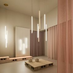 Vibia | Light Your Way Linear Lighting, Overhead Lighting, Hidden Lighting, Lighting Design, Espace Design, Steel Canopy, Steel Structure, Interior Lighting, Light Decorations
