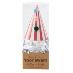 Toot Sweet Party Hats (Set of 8)    The Land of Nod
