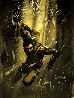 Deus Ex: Human Revolution. Adam Jensen is a legend.
