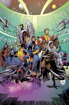 X-Men by Tony Daniel (homage to John Byrne) * Rogue Comics, Marvel Comics Art, Marvel X, Marvel Heroes, Captain Marvel, Dark Phoenix, Xmen, Marvel Universe, Comic Books Art