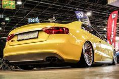 In der Tat – das Gelbe vom Ei: Audi S5  http://www.autotuning.de/das-gelbe-vom-ei-audi-s5/ AMTS, Audi A5, Audi Rotiform, Audi S5, Audi S5 Tuning, Audi Tuning, Rotiform