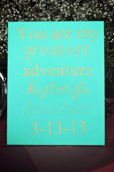 Personalized Canvas / Quotes on Canvas / Custom by DesignsbyJennyI