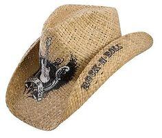 Charlie 1 Horse Straw Cowboy Hat Rockstar - Rocky Top Leather