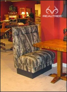 Make Your Place Look Warm And Homey With This Classy Booth.