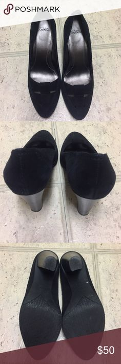 Black Dress pumps.    Circa by John & David Like new ~ worn 3 times at most ~ great for the office or to spice up a pair of jeans John & David  Shoes Heels