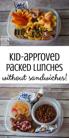Break the monotony! It is possible to pack kids' lunches without sandwiches. This mom offers tips for doing it. #ad