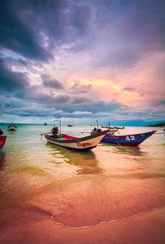 Catch a sunset in the appropriately named Sunset Beach, or Haad Rin Nae, in the gulf of Thailand.