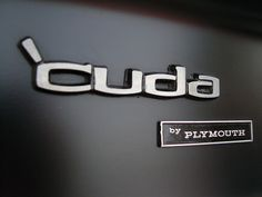 'cuda by Plymouth, the sportiest version of the brand's muscle car.