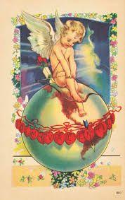 Image result for WORLD + VINTAGE VALENTINE CARD