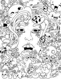dover hamsa designs - Abstract Doodle Zentangle ZenDoodle Paisley Coloring pages colouring adult detailed advanced printable Kleuren voor volwassenen coloriage pour adulte anti-stress kleurplaat voor volwassenen