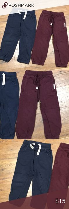Bnwt Marks And Spencer's Banyboys Smart Navy Chino Trousers 12-18 Months Wedding Sturdy Construction Bottoms Boys' Clothing (newborn-5t)