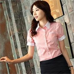 Buy 'Styleberry � Puff-Sleeve Contrast Trim Blouse' with Free International Shipping at YesStyle.com. Browse and shop for thousands of Asian fashion items from South Korea and more!
